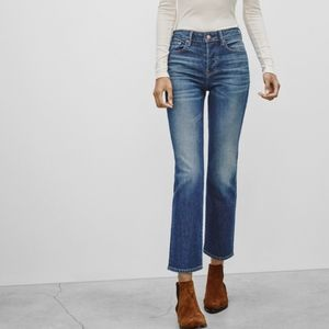 Aritzia the castings high rise cropped flare